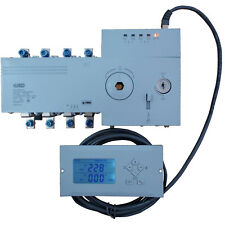 4PRO ATS-100A-4P-i Automatic Transfer Changeover Switch, 100A, 230/400V, 50/60Hz