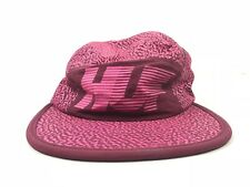 HUF 5 Panel Adjustable Flat Brim Hat Pink Print Made In USA