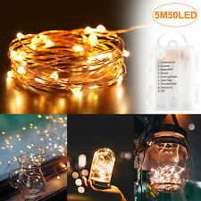 Waterproof LED String Light Lights Copper Wire Fairy Outdoor Garden Party UK
