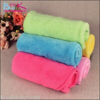 New Soft Blanket Practical Coral Soft Warm Pet Fleece Blanket Puppy Dog Cat Mat