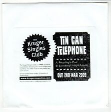 (GO609) Tin Can Telephone, Recycling Is Cool - 2009 DJ CD