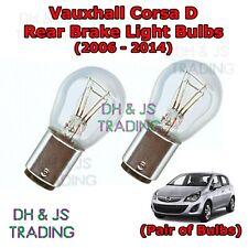 2x Vauxhall Combo MK2 Standard Halogen Neolux Rear Number Plate Light Bulbs