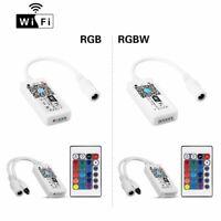 Smart WiFi LED RGB Light Strip Music Timer Controller For 3528 5050 LED Strip US