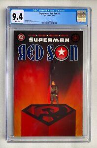 SUPERMAN RED SON #1 CGC 9.4 MARK MILLAR DC 2003 MOVIE