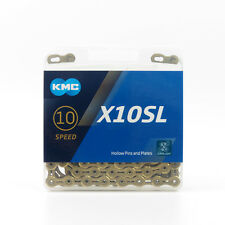 KMC X10SL 10 speed 116L Bike Bicycle Chain for SHIMANO Campagnolo SRAM - Gold