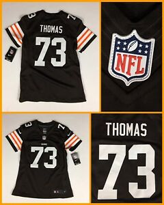 NWT Women's JOE THOMAS Cleveland Browns Authentic Nike Limited Sewn Jersey Small
