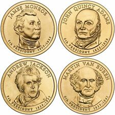 2008 US P or D Unc Presidential Dollar Coin Set
