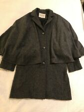 Hearts And Hands Grey Cape Coat From Urban Outfitters Size S