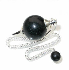 Auction* Lepidolite Ball Crystal Dowser Scrying Dowsing Pendulum
