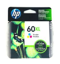 Genuine HP 60XL Tricolor Ink Cartridge (CC644WN) High Yield NEW Sealed Box