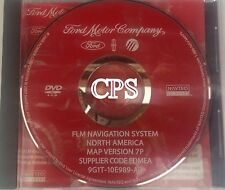 2008 2009 Ford F2250 F-350 Lariat King Ranch GPS Navigation DVD Map Disc FLM 7P
