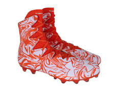 Under Armour Highlight Lux Mc Football Cleats Size 14 Orange/White 1297953 811