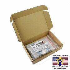 50value 100pcs 3W Metal Film Resistor +/-1% Assortment Kit US Seller KITB0142