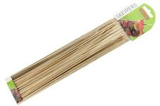 "Pack 100 pinchos de bambú 30cm/12"" de largo-Apollo-Ideal para barbacoa, Fruta Y Chocolate"