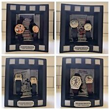 *8 Watches* Disney'S Mickey & Minnie Mouse Through the Years Watch Collection