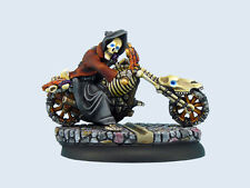 Micro Art Studio BNIB - Discworld Death on motorcycle (1)
