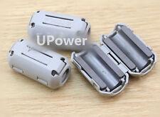 5pcs gray TDK 9mm Cable Clamp Clip RFI EMI EMC Noise Filters Ferrite Core