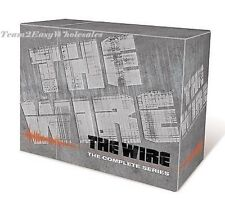 Brand New The Wire - The Complete Series (DVD, 2008, 23-Disc Set)