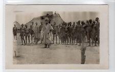 GALLIDERNA AND BASSA KOMO LABOURERS, 1907-08: Nigeria postcard (C27310)