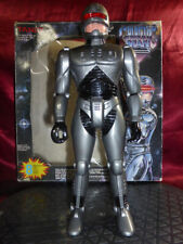 Tandy GALACTIC MAN Action Figure Vintage Robot Toy Futuristic Battle Sound Light