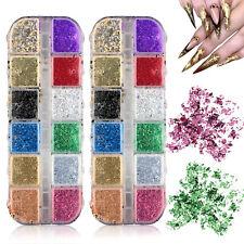 Nail Sequins Aluminum Irregular Flakes Nail Art Decoration Mirror Glitter Foil