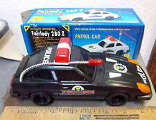 Vintage Fairlady 280Z Patrol Car, Battery Operated, New in original Box, MY-8627