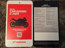 2015 CBR 600RR/C-ABS Specification Card