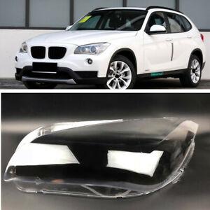 Left Headlight Headlamp Clear Lens Auto Shell Cover For BMW X1 E84 2010-2014