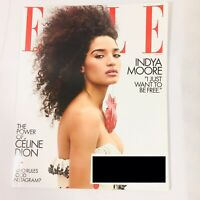 Elle Magazine June 2019 Indya Moore I Just Want To Be Free Power Of Celine Dion