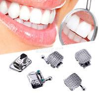 Dental Orthodontic Fifth Generation Self-Ligating Brackets MBT 0.022 3-4-5 Hooks