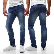 Slim-Fit-Herrenhosen aus Baumwolle