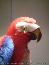 Original Steiff : Parrot Lora . 1312 . 4 2/3 in . 12 cm .1962