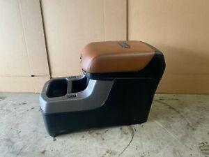 2011 TOYOTA SEQUOIA PLATINUM REAR BUCKET SEAT CENTER CONSOLE STORAGE