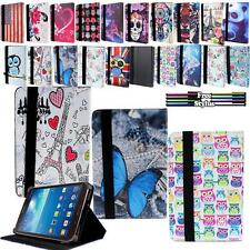 """Folio Stand Leather Case Cover For Various Samsung Galaxy Tab 8"""" inch Tablets"""