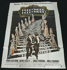 AFFICHE CINEMA ORIGINALE 120/160 HOLLYWOOD HOLLYWOOD - FRED ASTAIRE GENE KELLY