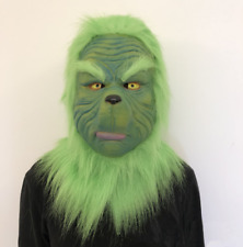 Mask Props Christmas Stole How Cosplay Adult the Grinch Costume XCOSER