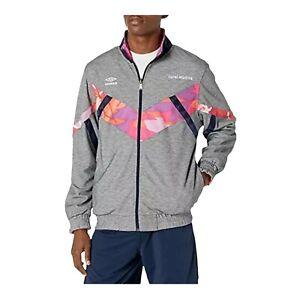 Mens Track Jacket Size L Umbro X Coral Studios Full Zip Reversible Black Beauty