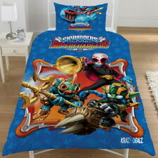 Skylanders Superchargers Single Panel Duvet Cover Bed Set New Gift