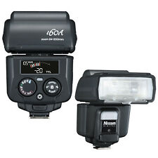 New Nissin i60 i60A TTL FP Flash Speedlite Fujifilm Fuji X-Pro2 USA Support HSS