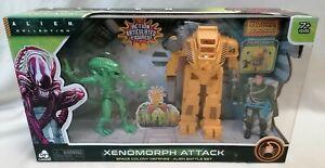 ALIENS - *NMIB* Alien Collection Figures Xenomorph Attack Battle Set Powerloader