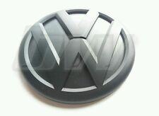 MATT BLACK VW TRANSPORTER T5 5.1 5.5 T6 2010-2015 REAR BADGE CARAVELLE SPORTLINE