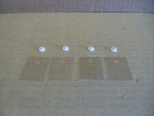 4 x Glimmerscheibe Multiwatt-15  LM3886  TDA7294 u.ä.