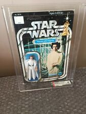 Kenner 1978 Star Wars Vintage Princess Leia Organa 12 Back AFA 40 Carrie Fisher