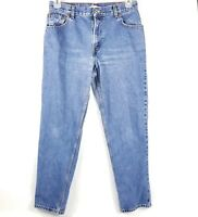 Levis 550 Womens Relaxed Tapered Jeans Size 12 High Waist Mom Jeans