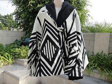 Lindsey Thornburg Pendleton SKYWALKER Wool Hooded Trench Cloak Coat Poncho OSFM