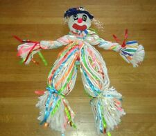 Totally Creepy Scary Rope Clown Doll Kitsch Central!!