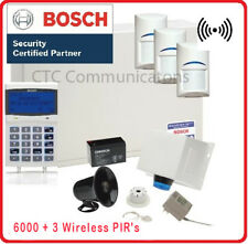 Bosch Solution 6000 Alarm System With 3 X Wireless Detectors+ Graphic Codepad