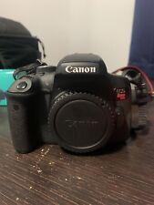 Canon EOS Rebel T6I 24.2MP Digital SLR Camera - Black (Body Only)