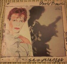DAVID BOWIE SCARY MONSTERS VINYL LP 1980 ORIGINAL AUSTRALIAN PRESS APL 1 3647
