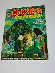Monsters Unleashed #31973! Marvel Horror Magazine Neal Adams Rare Book